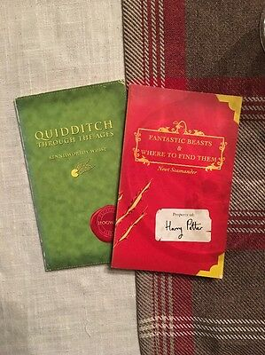 Harry Potter - Fantastic Beasts / Quidditch Original First Editions J K Rowling