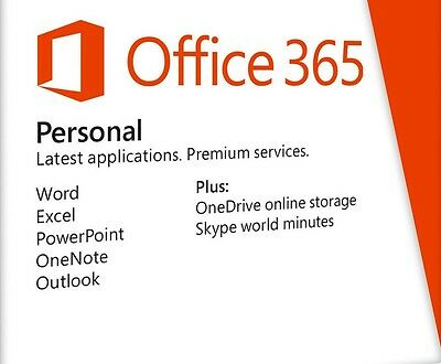 Microsoft Office 365 Personal Full PC Edition Download 5 Use Lifetime Product
