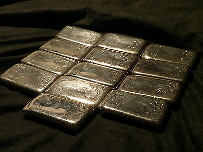 Hard To Find 1970's Geomin 250 g (approx) Silver 999F Bar - LAST ONE