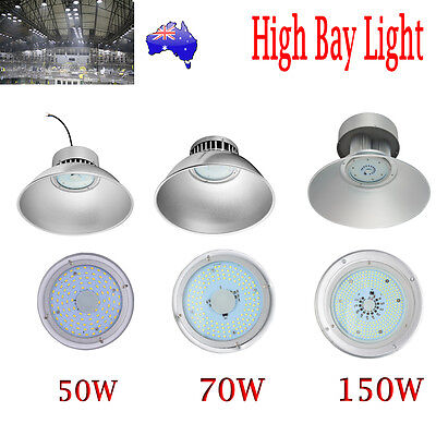New LED 50W 70W 150W High Bay Lighting Light Lamp Warehouse Industrial Factory