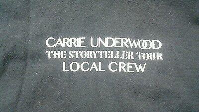 Carrie Underwood The Storyteller Tour Local Crew Shirt Size XL