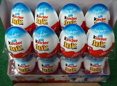2 X *bOYS* - Chocolate Kinder Joy Surprise Eggs Gift Kids toy Easter Egg Milky