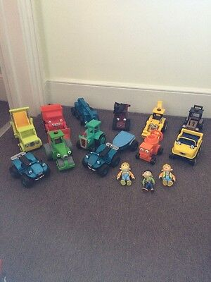 Collection Of 12 Bob The Builder Vehicles