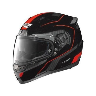 Nolan N 85 Virage Black Red Road Bike Helmet Size Medium