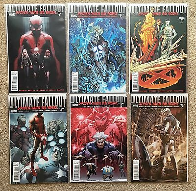 Ultimate Fallout 1-6, Complete Set of First Prints, 2011