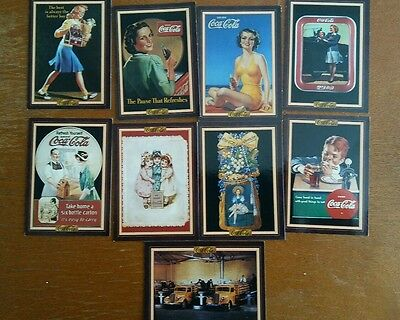 1994 Coca Cola Collection Series 3 cards set of 9
