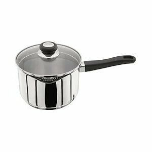 Judge Vista 20cm Saucepan Stainless Steel with Draining Lid J307