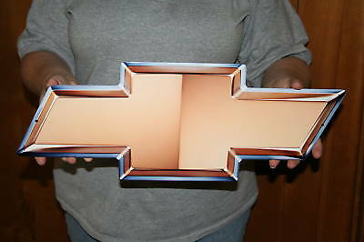 NEW GM CHEVROLET Bowtie  21x8 (GMBOW) - Metal Sign - PhotoSTEEL
