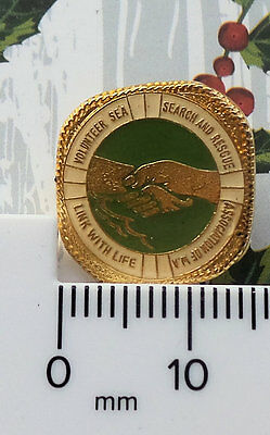 Link With Life Volunteer Sea Search Rescue Assoc Wa Australia Not Rnli Badge