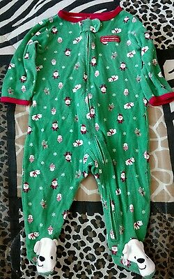 Infant Boys/Girls Size 3-6M My First Christmas Sleeper