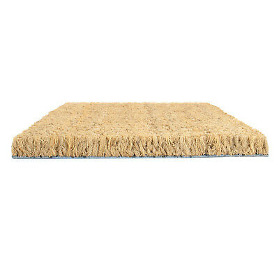 COCONUT FIBRE DOORMAT 17mm/24mm entrance matting wiper coir cleaning shoes soles