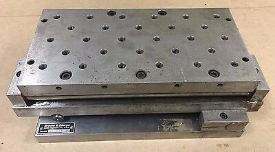 "Brown and Sharpe Compound Sine Plate 6"" x 12"" 599926 10"