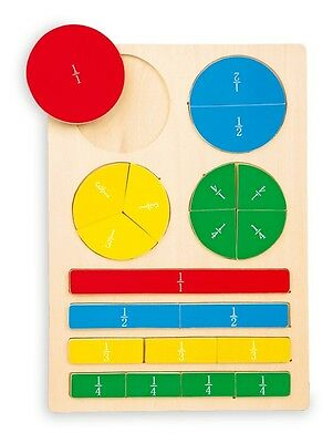 Fraction Expert -Wooden Jigsaw Puzzle