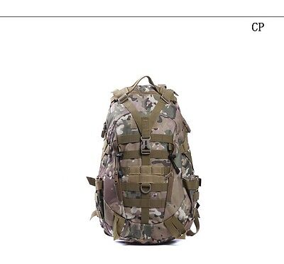 40L  Molle Backpacks Military 3P Tactical Backpack Assault Nylon camo airsoft