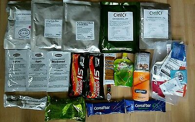 Ration pack Camping Hiking Fishing Boil in Bag food