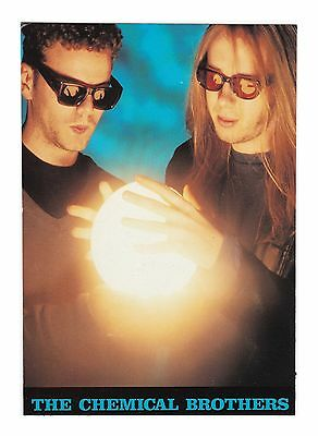 The Chemical Brothers - Electronic Dance Music Duo Shades Promotional Postcard