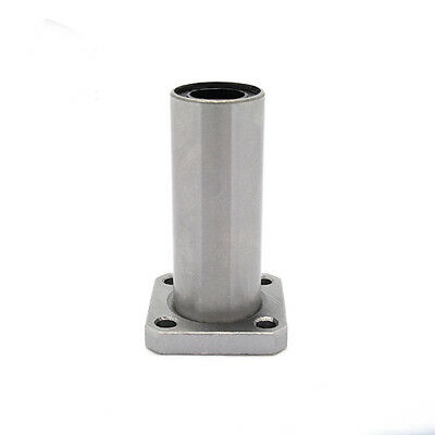 LMK8LUU/LMK10LUU/LMK12LUU Square long type Flanged Linear Bearing for 3D Printer