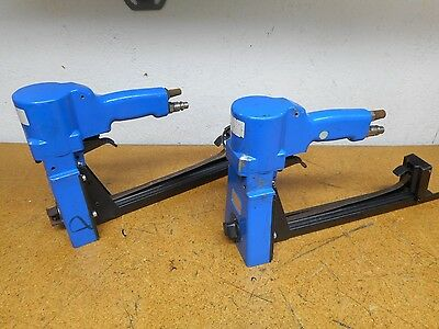 JOSEF KIHLBERG 561-15 Pneumatic Box Top Staplers Used With Warranty (Lot of 2)