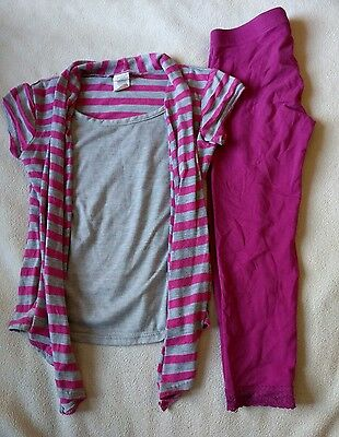 Girls Size 5/6 2pc Leggings Outfit