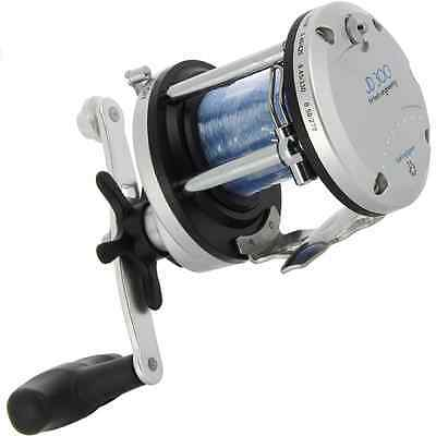 Lineaeffe JD300 Multiplier Fishing Reel Sea Boat Uptide Beachcaster With Line
