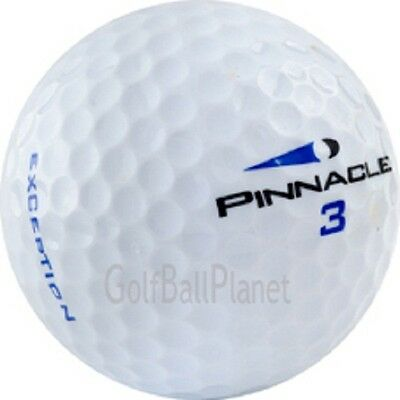 100 Pinnacle Exception MINT Used Golf Balls