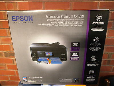 Epson Expression Premium XP-830 Wireless All-in-One Color Inkjet Printer