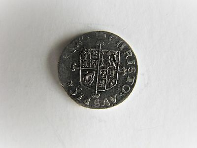 CHARLES ll SILVER TWO PENCE COIN UNDATED