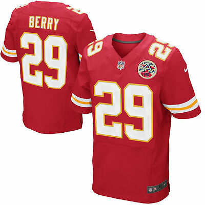 Nike NFL Kansas Chiefs Eric Berry 29 Football Jersey T Shirt Top Size XXL