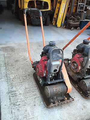 Belle Low Vib Honda Engine Trench Compactor Plate Block Paving