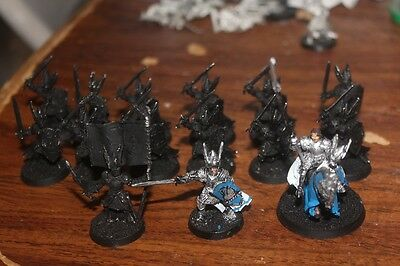 Warhammer The Hobbit Lot Of 15 Dol Amroth Knight Models With Some Painted