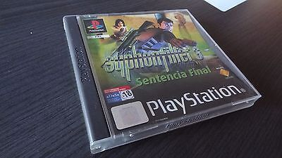 Syphon Filter 3 - SONY PlayStation PS1 PSX Play Station - PAL España