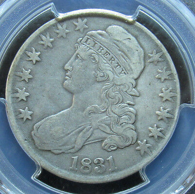 1831 Capped Bust Half Dollar PCGS VF30 (768)