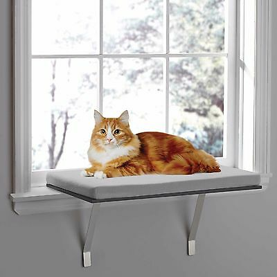 Pawslife Deluxe Window Cat Perch Comfortable Surface Used See Details