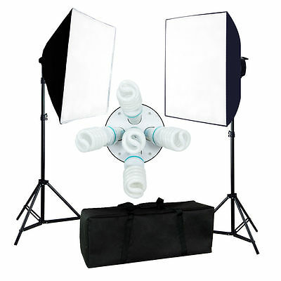 Photography 2000W Photo Studio Video Softbox Light Stand Continuous Lighting Kit