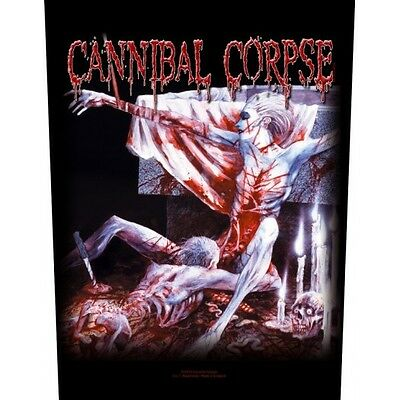 Back Patch Cannibal Corpse - Tomb Of The Mutilated