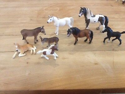 Schleich Horses/Ponies and Donkeys Bundle