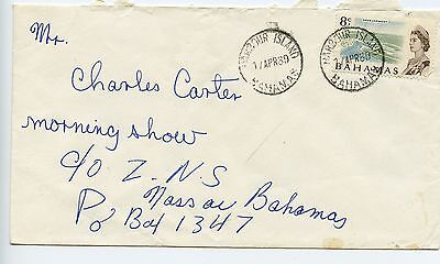 Bahamas cover used Harbour Island 1969 (H752)