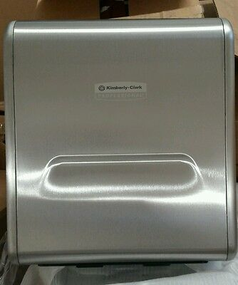 Kimberly - Clark  stainless steel recessed dispenser housing (paper towels)