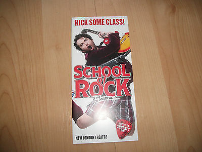 **School Of Rock The Musical Flyer At New London Theatre**