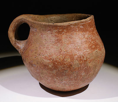 Lovely Ancient Old Testement Holy Land Bronze Age Terracotta Pot 3000Bc - Nr!!!