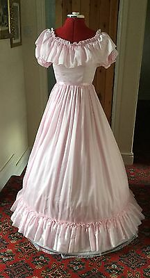 Victorian Style Pantomime Princess/chorus Dress Theatrical Stage Costume