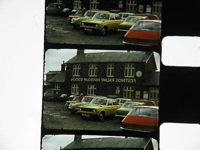 Two Standard 8 Mm Home Movie Films All About Trains, On 400 Ft Spools With Box