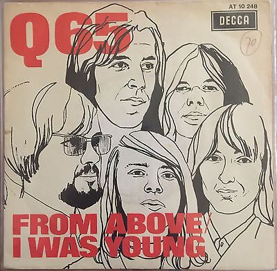 "Q65 From Above Dutch Orig Psych Garage Freakbeat  7"" Ps"
