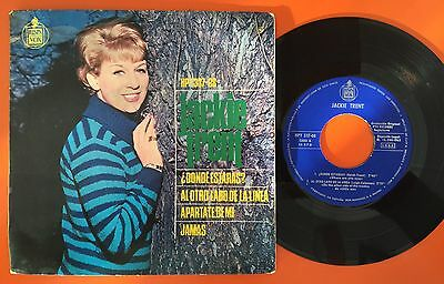 "Jackie Trent Where Are You Now? Spain  Orig Northern  Soul Rare 7"" Ps Ep"