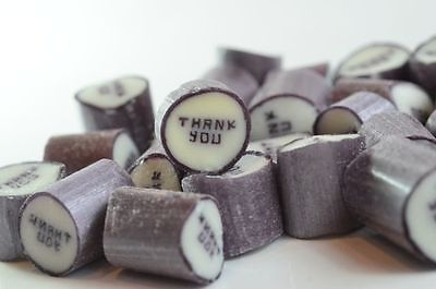 1kg Rock Candy - Thank You Wedding favours