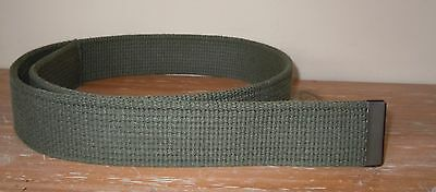 L@@k! Brand New Official Bsa Boy Scouts Of America Uniform Web Green Belt S 36""