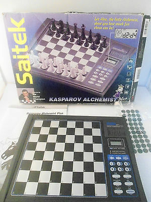 Kasparov Atlas Retro Electronic Chess Game Saitek Gameboard Only Replacement