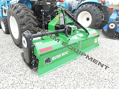 "Rotary Tiller, BUSH HOG RT72G,72"" Gear Drive,3Pt PTO Tiller,35-55hp:MADE IN USA!"