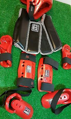 Macho Zang Taekwondo Helmet/ pads/ chest porotection gear set child/ youth