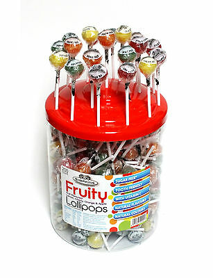 Simpkins Sugar Free Fruity Lollipops with Vitamin C - Pack of 12, 24, 36 or 200